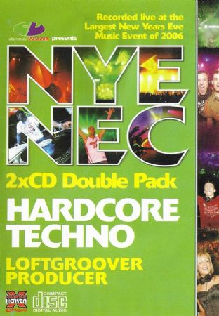 Slammin Vinyl - New Years Eve - NEC - 2006 - Hardcore Techno Double Pack Recorded Live @ The NEC -
